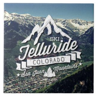 Telluride Mountain Vintage Tile