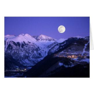 Telluride Poor Person - Moonlight Card