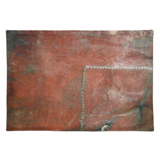 Telluride Prairie Dog Leather Placemat