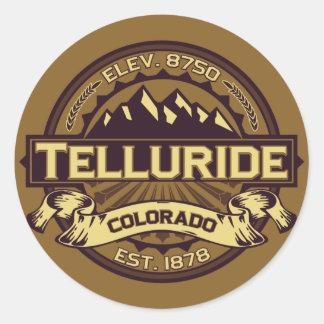 Telluride Sepia Sticker