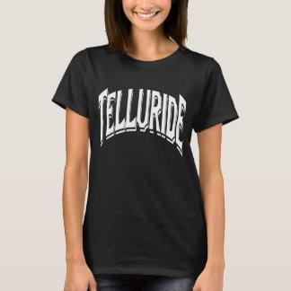 Telluride Shadow Logo For Black T-Shirt