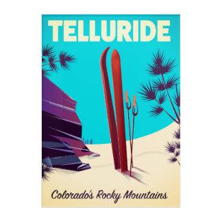 Telluride Ski Rocky Mountains Acrylic Wall Art