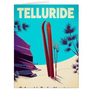 Telluride Ski Rocky Mountains Card
