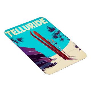 Telluride Ski Rocky Mountains Magnet
