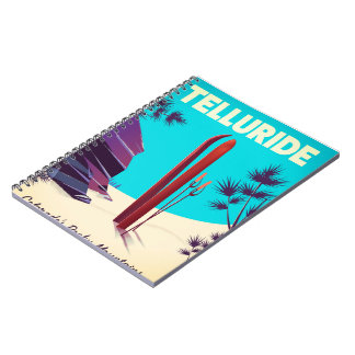 Telluride Ski Rocky Mountains Notebook