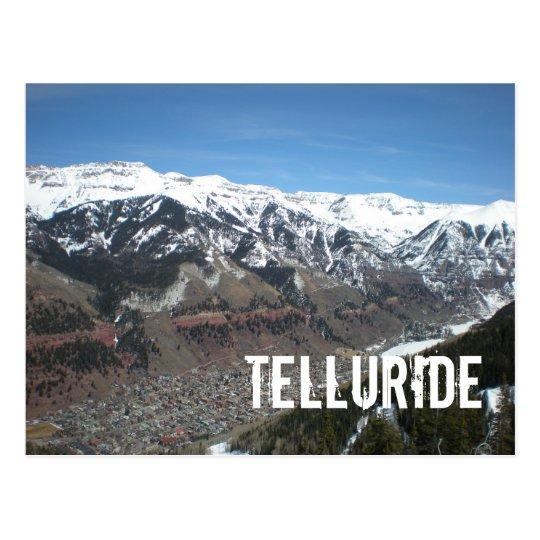 Telluride Town Postcard
