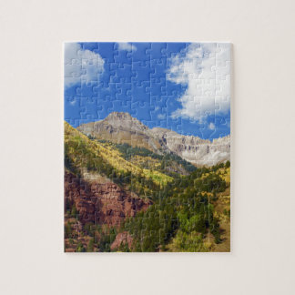 Telluride Valley Autumn Colors Jigsaw Puzzle