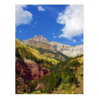 Telluride Valley Autumn Colors Postcard
