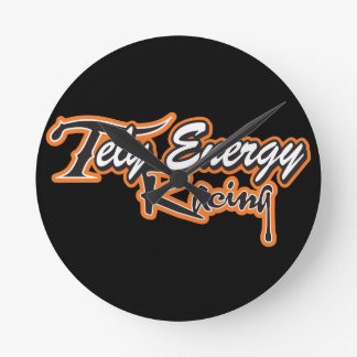Tely Energy Racing Team Apparel Round Clock