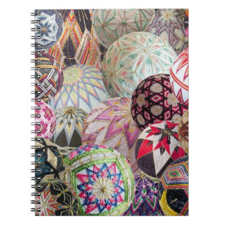 Temari Montage Notebook - Lined pages