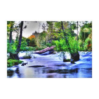 "Teme River, Ludlow, UK (48.00"" x 32.00"") Canvas"