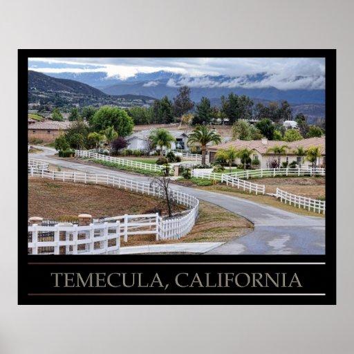 Temecula, California Poster