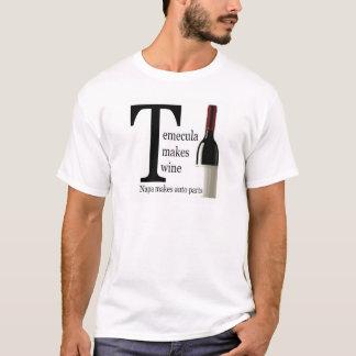 Temecula Makes Wine - Men's T-shirt