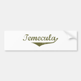 Temecula  Revolution t shirts Bumper Sticker