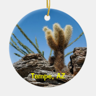 Tempe Arizona Keepsake Ceramic Ornament