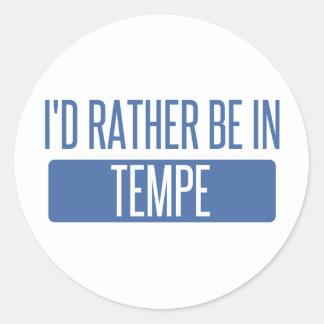 Tempe Classic Round Sticker