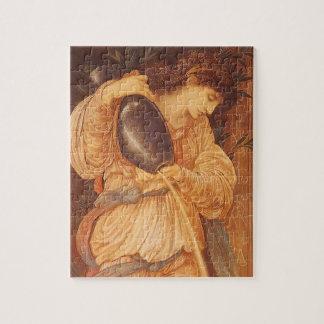 Temperantia by Burne Jones, Vintage Victorian Art Jigsaw Puzzle