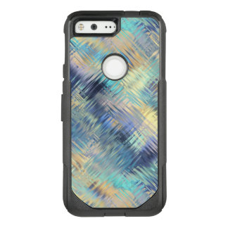 Tempered Rainbow Glass Abstract OtterBox Commuter Google Pixel Case