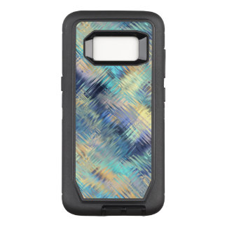Tempered Rainbow Glass Abstract OtterBox Defender Samsung Galaxy S8 Case