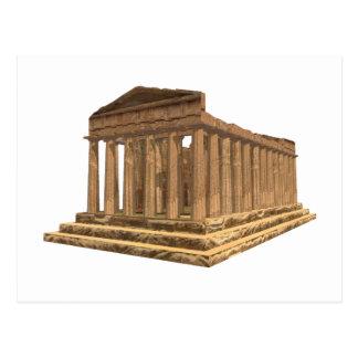 Tempio della Concordia Temple of Concord: Postcard