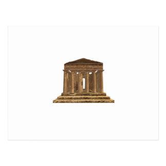 Tempio della Concordia: Temple of Concord: Postcard