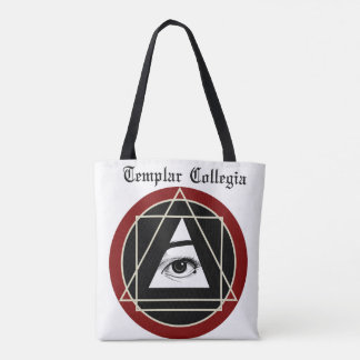Templar Collegia White Tote Bag
