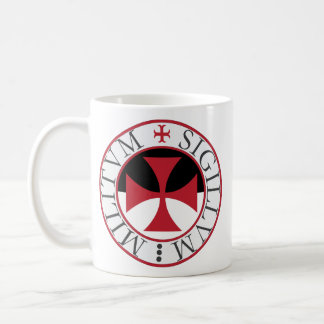 Templar Cross and Temple Seal Mug