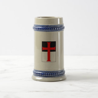Templar Cross On Beausant Mugs & Steins