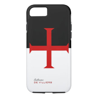 Templar Flag Case with your name