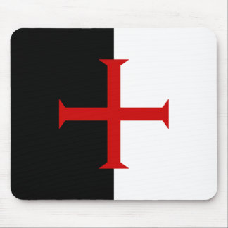 Templar flag mousepad