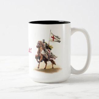 Templar Knight Deus Vult Mug