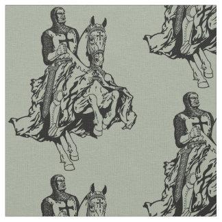 Templar knight fabric