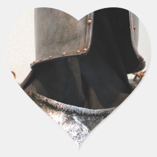Templar Knight Heart Sticker