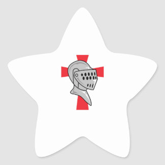 TEMPLAR KNIGHT STAR STICKER