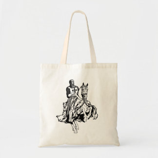 Templar knight tote bag