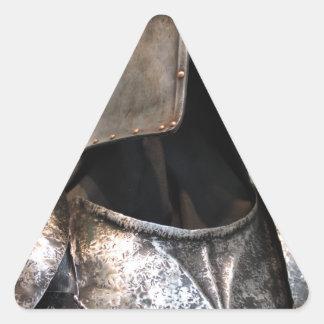 Templar Knight Triangle Sticker