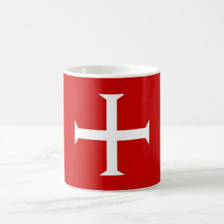templar knights red cross malta teutonic hospitall coffee mug