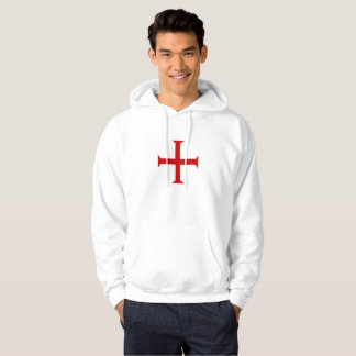 templar knights red cross malta teutonic hospitall hoodie