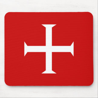 templar knights red cross malta teutonic hospitall mouse pad