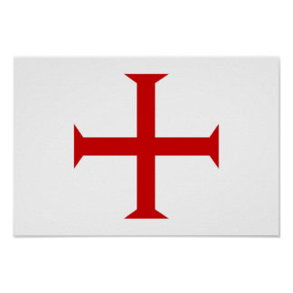 templar knights red cross malta teutonic hospitall poster