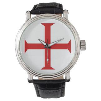 templar knights red cross malta teutonic hospitall watch