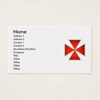 Templar Pattee Business Card