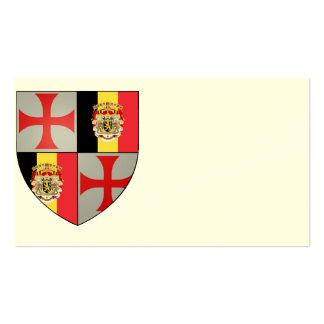 Templarii Belgium visiting cards No. 0230082013 Business Card