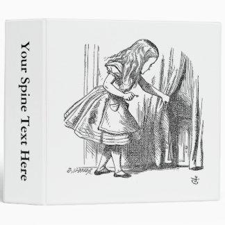 Template Alice Looking for the Door Vinyl Binder