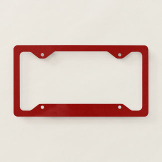Template Blank add TEXT change background colour License Plate Frame