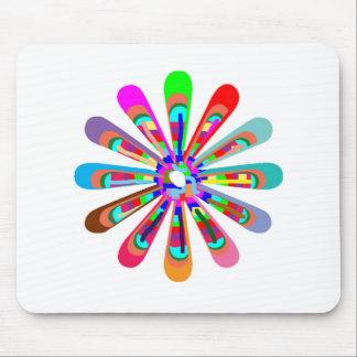 Template CHAKRA Style Art CUSTOMIZE add text image Mousepad