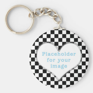 "Template ""Checker"" Keychain"