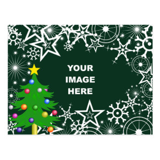snowflake border cards photocards invitations more