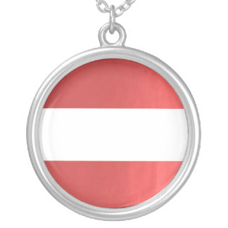 TEMPLATE Colored easy to ADD TEXT and IMAGE gift Round Pendant Necklace