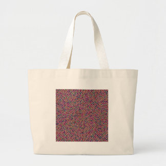 TEMPLATE DIY Artistic Pattern Add Greeting Txt Img Canvas Bags